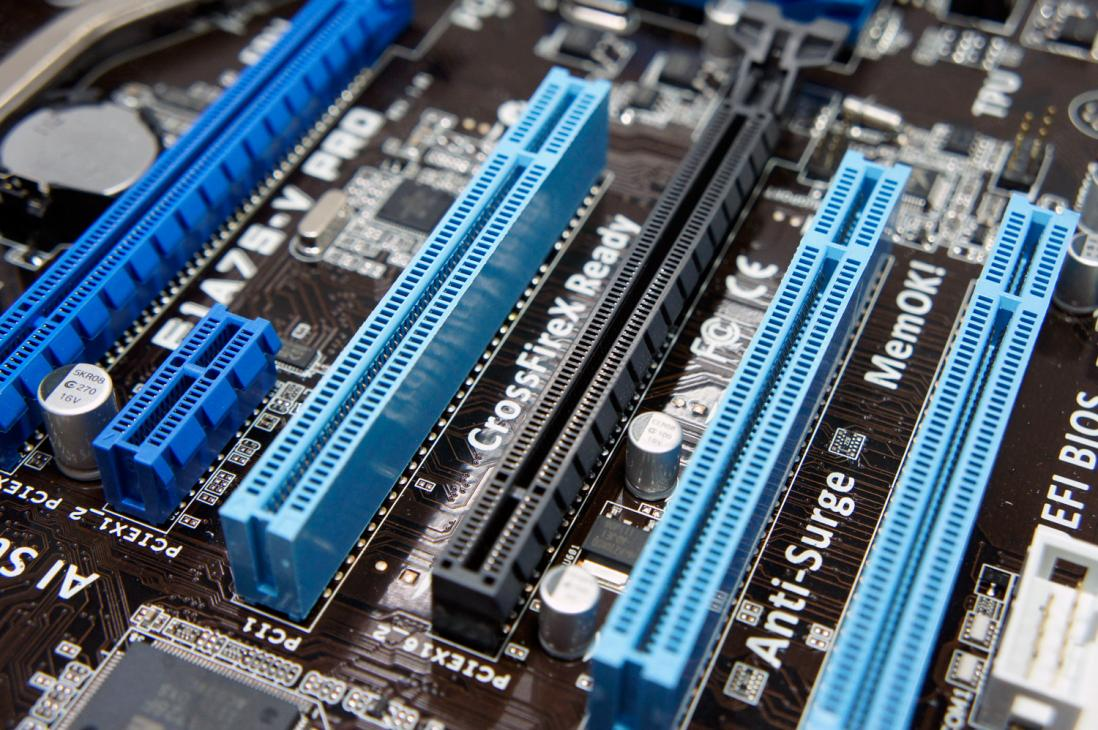 asus f1a75 v pro PCI-E