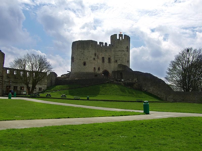 Dudley castle and where the titanics anchor was made!
