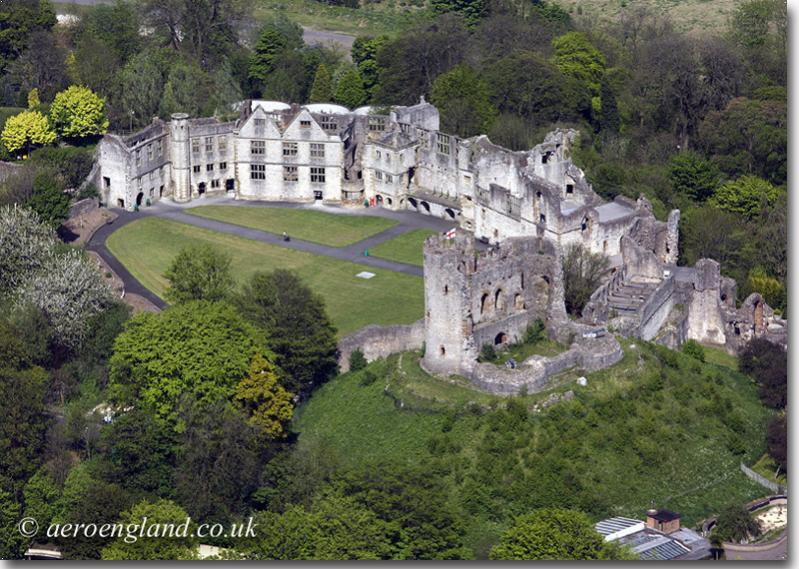 Dudley Castle built in 1030