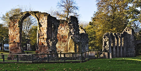 St James Priory in Dudley began life in the 12th century as a monastic establishment for Cluniac monks. It was built by Gervase Paganell, 5th Baron...
