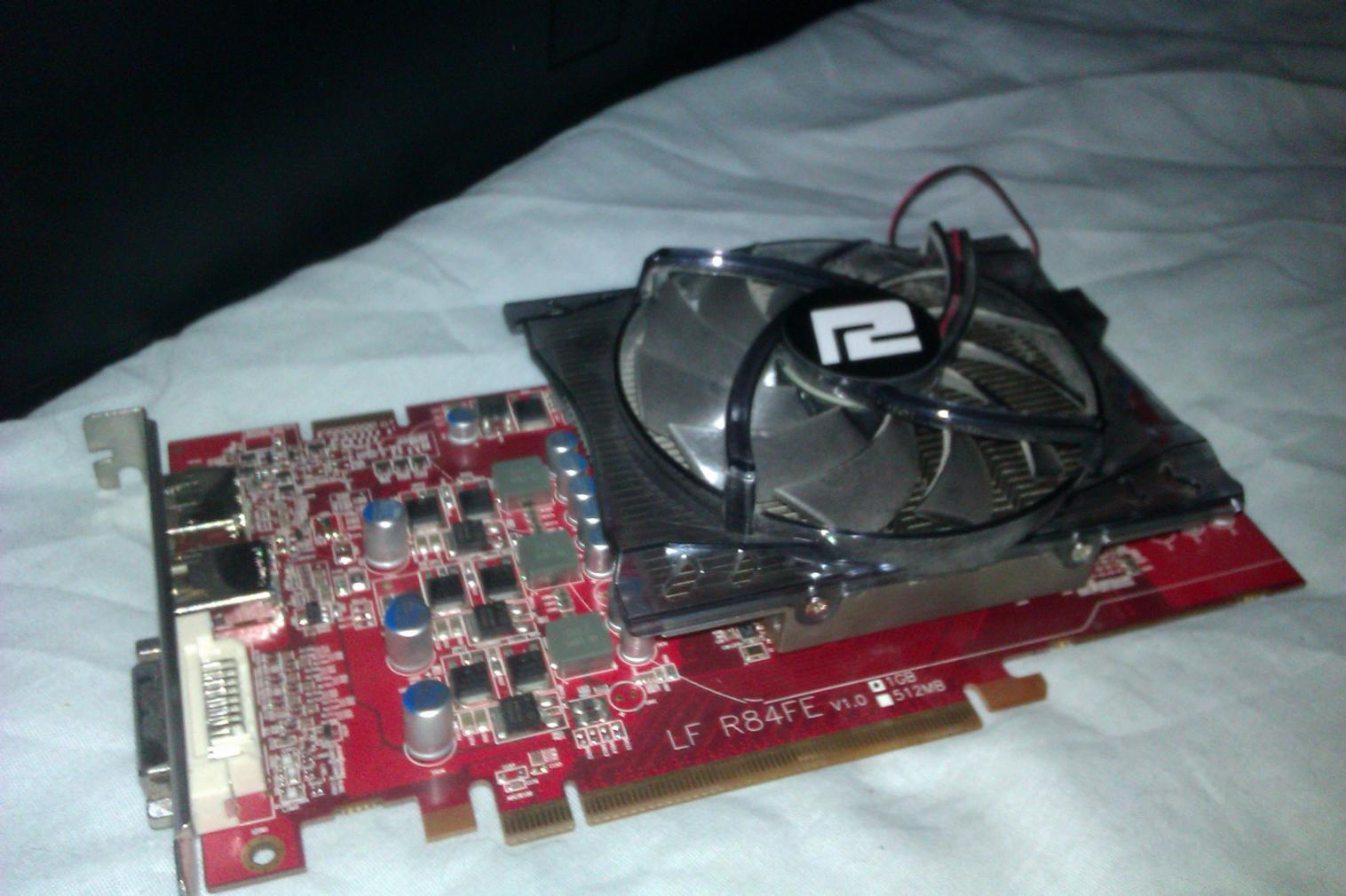 Powercolor 5770,the fan on this model is very silent,can turn it up to 100% and cant hear it at all!!