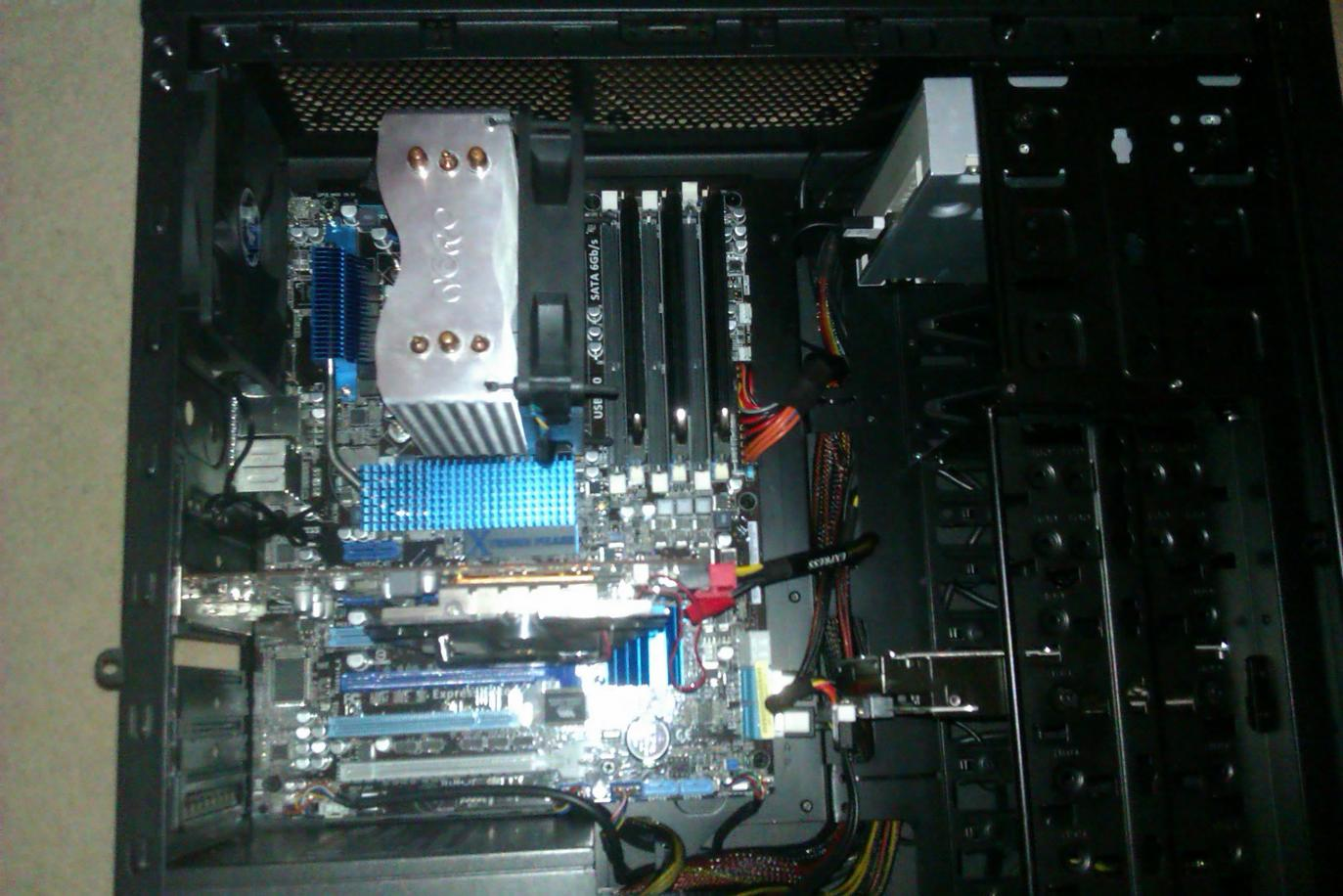 Using ocz reaper tri channel 1800mhz ram